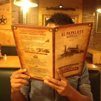 Photo taken at El Papalote Taco & Grill by Frank B. on 3/13/2012