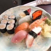 Photo taken at Ajisai Sushi Bar by Austin T. on 4/10/2012