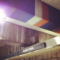 Photo taken at Glen Park BART Station by Taylor H. on 4/19/2012
