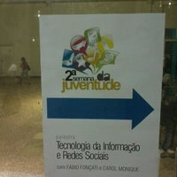 Photo taken at Faculdade de Americana (FAM) by Anderson R. on 3/29/2012