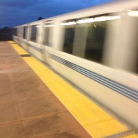 Photo taken at El Cerrito Plaza BART Station by JoJo D. on 5/14/2012