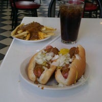 Photo taken at American Coney Island by Dave E. on 4/19/2012