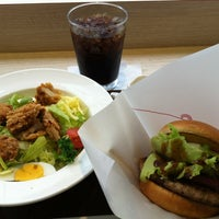 Photo taken at モスカフェ 西銀座店 by hirorianZ on 5/8/2012