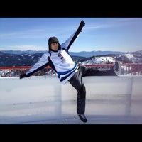 Photo taken at Skating Rink At Squaw Valley by Misha B. on 2/19/2012