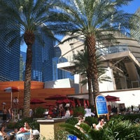 Photo taken at Pools at Monte Carlo Resort & Casino by Starr S. on 6/23/2012
