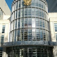 Photo taken at Theodore Roosevelt Federal Courthouse (U.S. District Court) by Alex S. on 3/3/2012