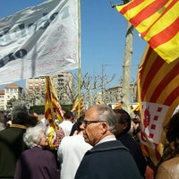 Photo taken at Plaça Del Pati by Adria B. on 3/29/2012