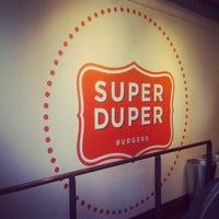 Photo taken at Super Duper Burger by Holden K. on 4/13/2012