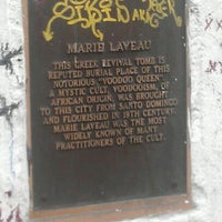 Photo taken at St. Louis Cemetery No. 1 by jaz on 2/22/2012