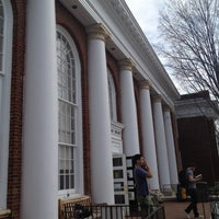 Photo taken at Alderman Library by Kerim A. on 3/19/2012