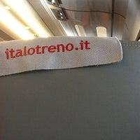 Photo taken at Casa Italo Firenze Santa Maria Novella by Nicola T. on 5/17/2012