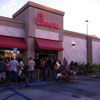 Photo taken at Chick-fil-A Cerritos by Sonja R. on 8/2/2012