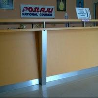 Photo taken at Pos Laju by Ayep K. on 8/25/2012