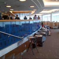 Photo taken at Delta Sky Club by Ken M. on 8/30/2012