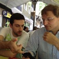 Photo taken at Janga Cafè by Alberto D. on 6/25/2012