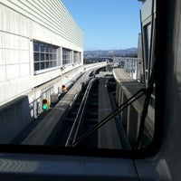 Photo taken at SFO AirTrain by Roger B. on 7/4/2012