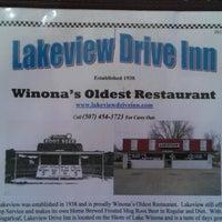 Photo taken at Lakeview Drive-Inn by Patrick O. on 8/17/2012