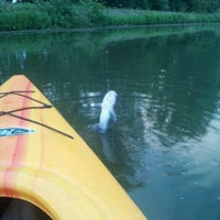 Photo taken at Hennepin Canal by Holly on 8/16/2012