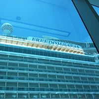 Photo taken at Royal Caribbean - Freedom Of The Seas by Nicole D. on 8/14/2012