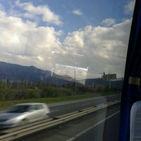 Photo taken at Pasarela Vespucio by Jonathan g. on 6/16/2012