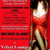 Photo taken at Brandi's Velvet Lounge by DJ Boogieman on 3/30/2012