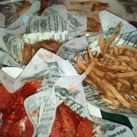 Photo taken at Wingstop by Mz M. on 4/13/2012