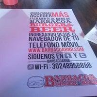 Photo taken at Barbacoa Burger & Beer by Juan David C. on 8/11/2012