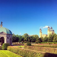 Photo taken at Hofgarten by Paula M. on 7/12/2012