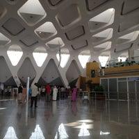 Photo taken at Marrakech Menara Airport (RAK) by Livia S. on 6/26/2012
