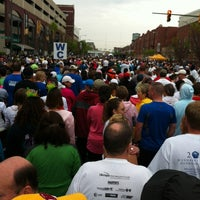 Photo taken at Monument Ave 10k 2012 by Molly L. on 5/28/2012