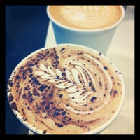 Photo taken at Crema Coffee by Roop G. on 3/1/2012