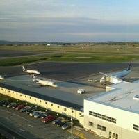 Photo taken at Bangor International Airport (BGR) by John S. on 4/29/2012