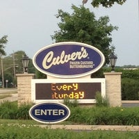 Photo taken at Culver's by Matthew V. on 5/27/2012
