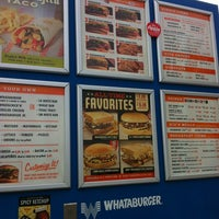 Photo taken at Whataburger by Theresa D. on 2/17/2012