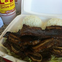 Photo taken at L&L Hawaiian Barbecue by Lei M. on 7/17/2012
