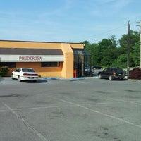 Photo taken at Ponderosa Steakhouse by Miriah S. on 5/19/2012