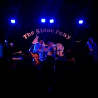 Photo taken at The Stone Pony by Drew M. on 5/19/2012