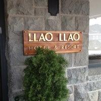 Foto tomada en Llao Llao Hotel & Resort por Nicole P. el 8/27/2012