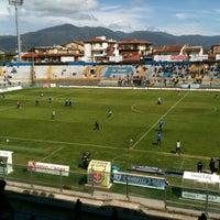 Photo taken at Arena Garibaldi - Stadio Romeo Anconetani by Alessandro M. on 4/22/2012