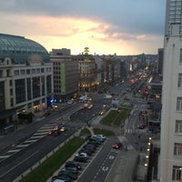 Photo taken at Crowne Plaza Brussels Le Palace by Chuck B. on 4/24/2012