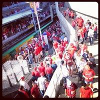 Photo taken at MetroLink - Stadium Station by Stewart S. on 5/3/2012