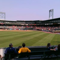 Photo taken at Clipper Magazine Stadium by PS W. on 6/28/2012