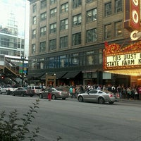 Photo taken at CONAN Chicago @ Chicago Theater by Abby Y. on 6/14/2012