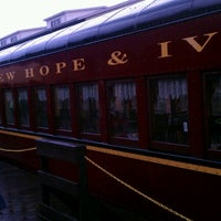 Photo taken at New Hope & Ivyland Railroad by Tinsel & Tine (. on 8/11/2012