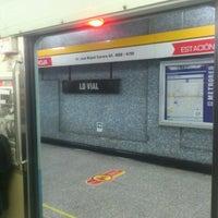 Photo taken at Metro Lo Vial by Sergio Felipe Z. on 8/1/2012
