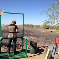 Photo taken at Ben Avery Sporting Clay by Ethan A. on 5/4/2012