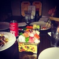 Photo taken at Marumi Sushi by Ming Z. on 8/20/2012