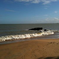 Photo taken at Praia Do Cemitério by André A. on 8/17/2012