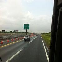 Photo taken at New Jersey Turnpike - Newark by Jocelynne R. on 5/27/2012