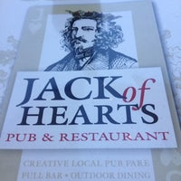 Photo taken at Jack of Hearts Pub & Restaurant by Elizabeth S. on 7/28/2012
